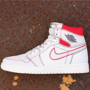 """Air Jordan 1 """"SailUniversity Red"""""""